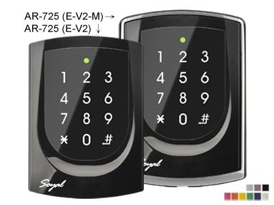 AR-725(E-V2/E-V2-M) 觸控式背光雙頻門禁控制器